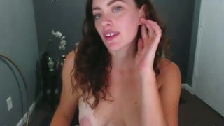 Missionnaire - Blue eyed babe with puffy nipples pussy and anal...