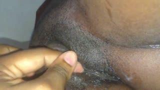 Black - Big black wet pussy