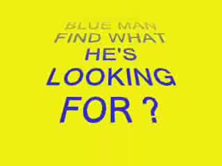 Divertente - BLUE MAN