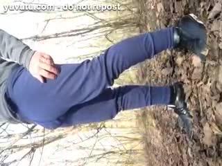 Masturb. masculine - EXHIBMAN dans les bois