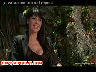 Exhibe - BDSM MILF Anal and DP for the First Time