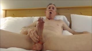 Männliche Masturb. - Big cock jerk off cumshots only 2
