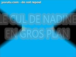 Anal - LE CUL DE NADINE A ENCULER