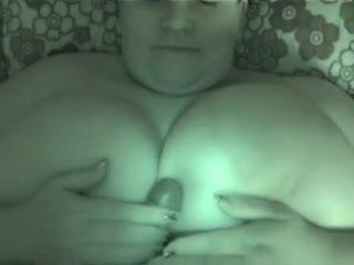 Tit Wank/Tit Fuck - Fucking huge tits