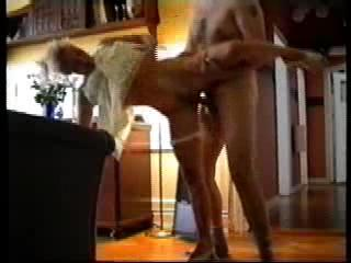 Standing - I get fucked at home