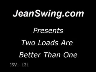 Mûre - Swinger wife takes two creampie loads