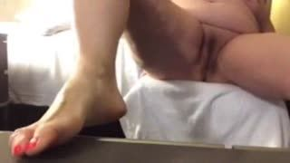 Female Masturbation - Stefania video 1.