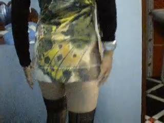 - undressing..