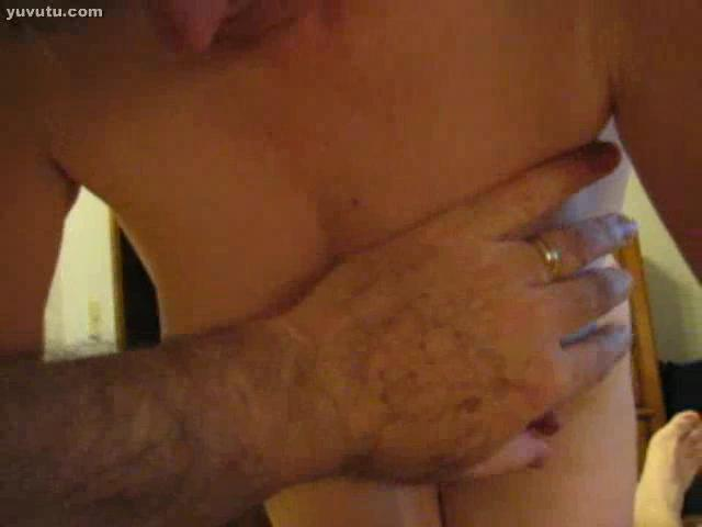 Branlette espagnole - Nipple play, some doggy style.....