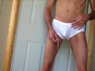 Bizzare - Cock Shaved and Up My Penis wth  Huge Plug