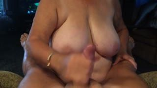 Hand Job - Granny gave me a handjob and swallowed