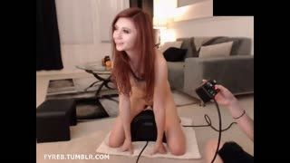 Fetish - Sybian Controlled by Best Friend