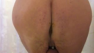 Missionnaire - Washing my arse & cock&balls with my sho...