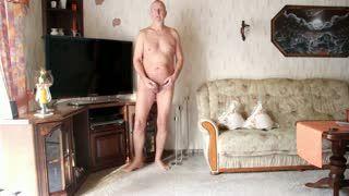 Male Masturbation - Nackedei wichst 001