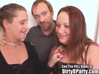 Exhibe - Hot Sluts Bonnie & Deb's After Party Orgy