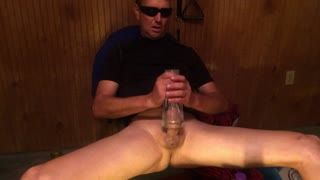 Male Masturbation - Close Cum