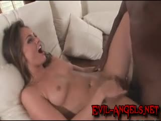 Interracial - Great interracial action which ends with an awes...