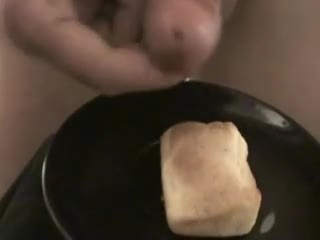 Food - Cornbread with cum on top