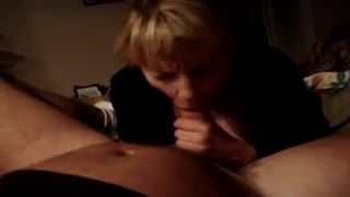 Boquete - Neighbor swallows cum