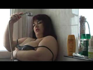 BBW/Chubby - BBW_WILD_CAT Teaser in the bathroom!