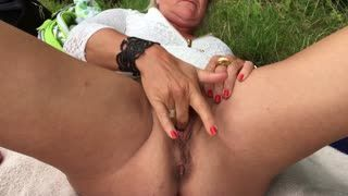 Masturb. femenina - Outdoor