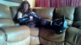 Missionary - sissy relaxing