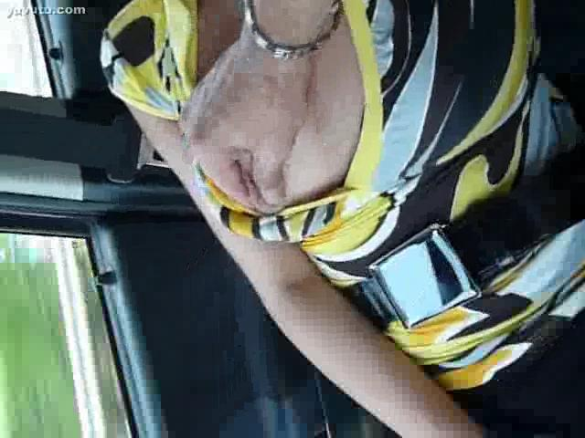 Foot Job - car sex