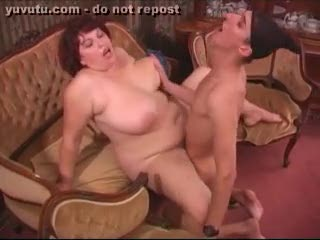 Mature - Bust all over her