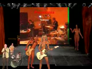 Cocu - Crazy Crazy Badly made topless Girls on stage to...
