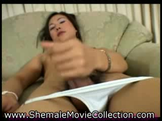 - Asian Ladyboy vs Latin Shemale!