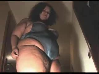 Striptease - FAT GIRL TEASING