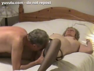 - Mature wife spreads her legs