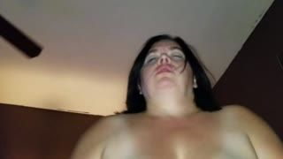 - Sexy BBW Fucks her Husband