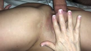 Anal - love getting my cock up her ass