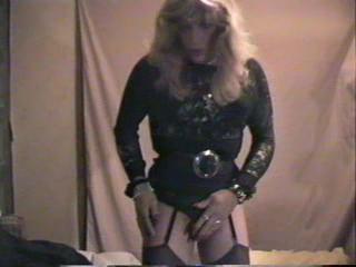 - Bobbi Ann in Short Black Skirt 2