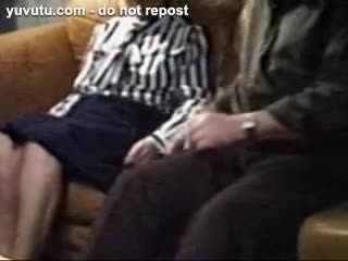 Missionary - Massive cumload in Grannys mouth
