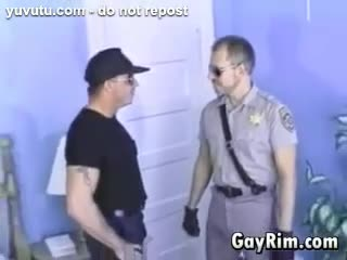 Gay - Cop Dominates A Hairy Guy