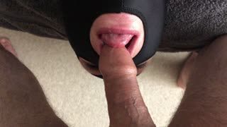 Blow Job - Oral Slave Being Slowly Throat Fucked With Head ...