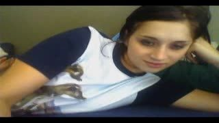 Webcam - la webcam de Mélanie