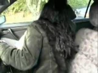 Dogging - Cecile Baisée rapidement en voiture