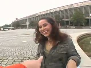 Exhibe - Curly haired redhead chick agrees to gets fucked...