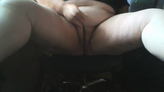 Female Masturbation - working from Home and Feeling Horny - Part 2