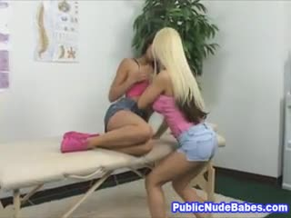 Strap-on - Two Horny Babes Goes Wild In Clinic