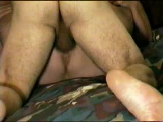 Missionnaire - Missionary sex w orgasm, creampie