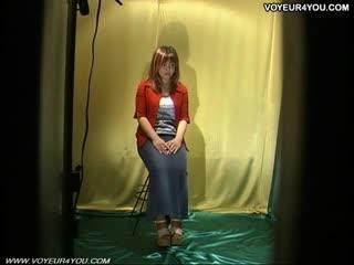 Guardoni - Lingerie Model Changing clothes