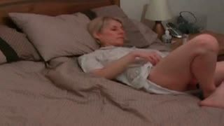 Female Masturbation - home alone and horny