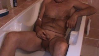 Männliche Masturb. - Some more pee