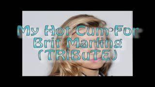 - My Hot Cum For Brit Marling (TRiBuTE) (HD)