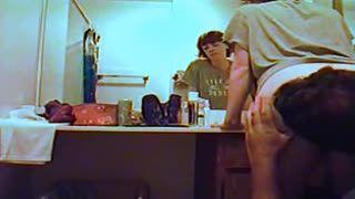 Cunilingus - Patty DATY in bathroom