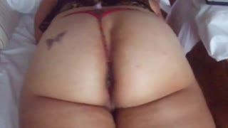 Missionario - Nice wife bubble butt